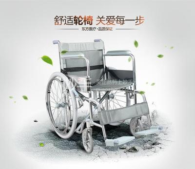 佛山东方 轮椅老人残疾车助行器 FS809-46